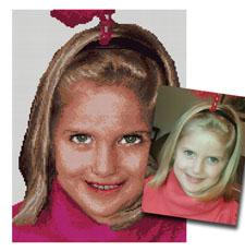 obrazki kanwy hafty ze zdjęć